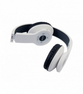 Auric.e Big M Bluetooth con Mic y Reproductor MP3 Blanco