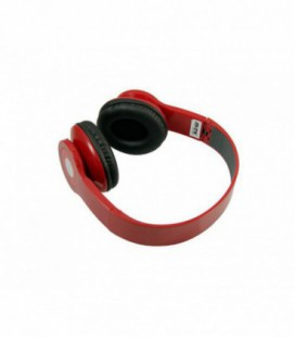 Auric.e Big M Bluetooth con Mic y Reproductor MP3 Rojo