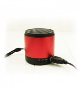 Altavoz music box para MP3/movil/Pendrive Rojo
